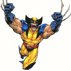 Wolverine-Logan by Scott Campbell Wolverine Tattoo, Wolverine Art, Logan Wolverine, Comic Book Heroes, Comic Books Art, Comic Art, Book Art, Animated Cartoons, Marvel Art
