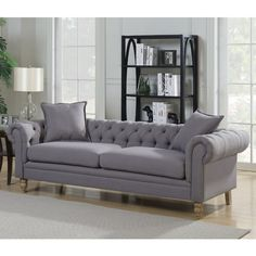 these gorgeous tufted sofas that make any space look classy and rh pinterest com
