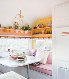 4 Vintage Trailer Makeovers Thatll Make You Want to Glamp via Brit + Co