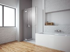 Kabiny prysznicowe RADAWAY » ŁAZIENKA Z WANNĄ I PRYSZNICEM #1
