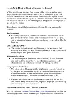 Resume Teaching Objective Resume Objective Statements  Teacher In Me  Pinterest  Resume .