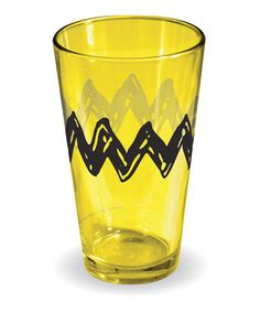 Love this Charlie Brown Pint Glass by Peanuts by Charles Schulz on #zulily! #zulilyfinds