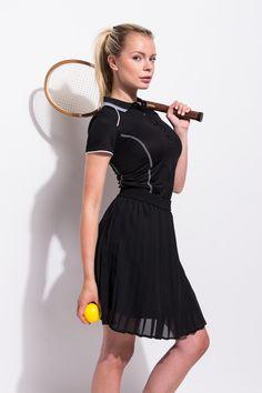 Let's play tennis! Ook deze sport outfit vind je online op http://www.miinto.nl/guide-s