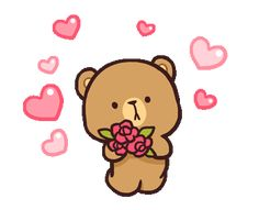 Animated gif uploaded by Kikis Cantú. Find images and videos about gif, couple and bears on We Heart It - the app to get lost in what you love. Cute Couple Cartoon, Cute Love Cartoons, Cute Cartoon, Emoji, Cute Bear Drawings, Bear Gif, Hug Gif, Cute Love Gif, Love Bear