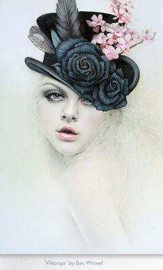 'Viktoriya,' by Bec Winnel @bec_winnel