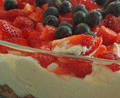 Blåbær Ostekake... - Oppskrift fra myTaste Frisk, Fruit Salad, Baking, Food, Blogging, Fruit Salads, Bakken, Essen, Meals
