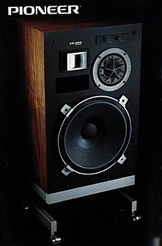 Solid Performance | PIONEER CS-955 (1979) Audiophile Speakers, Hifi Audio, Stereo Speakers, Bookshelf Speakers, Audio Design, Speaker Design, Pioneer Audio, Sound Wall, Vintage Classics
