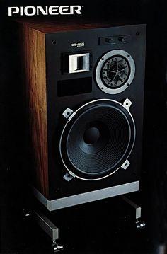 Solid Performance | PIONEER CS-955 (1979) Audiophile Speakers, Hifi Audio, Stereo Speakers, Audio Design, Speaker Design, Pioneer Audio, Sound Wall, Bookshelf Speakers, Vintage Classics