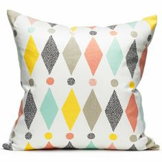 print & pattern blog features  HOME COLLECTION - littlephant  Love the colors here.