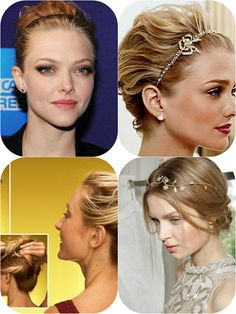 5 Inspired Easy Updo Hair styles 2014 with Remy Human Hair Extensions