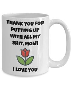 Funny mothers day gift happy mothers day fun gift for mom Happy Mothers Day Daughter, Funny Mothers Day Gifts, Happy Birthday Daughter, Mother Daughter Quotes, Mother Day Gifts, Gifts For Mom, Mothers Quotes To Children, Mothers Day Quotes, Child Quotes