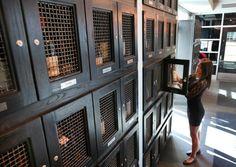 Inside the secret world of wine lockers
