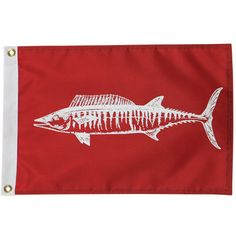 Overton's : Wahoo Boat Flag - Boating & Marine > Flags & Nautical Items > Flags : Boat Flags, Fishing Flags