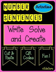 This product supports students to write and solve number sentences collaboratively. My students love to work with the multilink cubes when they do the warm up activities included in this resource.After doing the warm up, students read the word problem to each other.