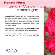 Regina Floris Serum control total antiarrugas descripción