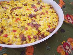 Easy To Be Gluten Free | Bacon Corn Casserole