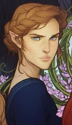 Nesta Archeron by Charlie Bowater Book Characters, Fantasy Characters, Female Characters, A Court Of Wings And Ruin, A Court Of Mist And Fury, Character Inspiration, Character Art, Character Ideas, Feyre And Rhysand