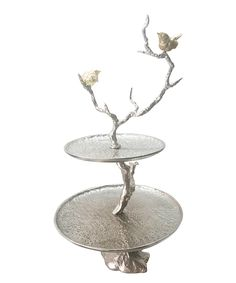 Iron Branch Two-Tier Tray