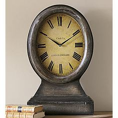 Distressed Clock from Seventh Avenue ®