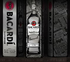 Bacardi limited edition packaging design for china market Limited Edition Packaging, Bacardi, Rum, Packaging Design, Behance, Bottle, How To Make, Flask, Bacardi Cocktail
