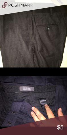 Kenneth Cole men's charcoal dress pants 38x30 . Kenneth Cole men's charcoal dress pants 38x30 . Kenneth Cole Pants Dress
