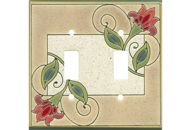 JACOBEAN FLOWER Switch Plate Covers Image