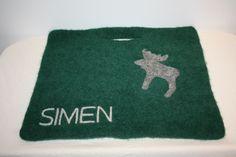 Sitteunderlag - www.tilnytteogglede.com Seat Pads, Bath Mat, Knitting, Rugs, Decor, Farmhouse Rugs, Decoration, Tricot, Breien