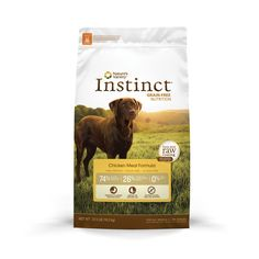 Nature's Variety Instinct Grain-Free Chicken Meal Formula Dry Dog Food