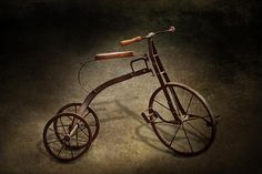 Featured Art - Bike - The Tricycle by Mike Savad Bicycle Tools, Bicycle Rack, Mike Savage, Tricycle Bike, Bike Pants, Hdr Photography, Foto Art, Bedroom Art, Art For Sale