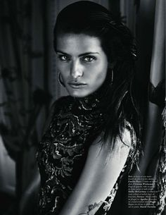 Isabeli Fontana by Mario Sorrenti for  Vogue Paris October 2011