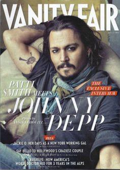 Johnny Depp in Vanity Fair magazine