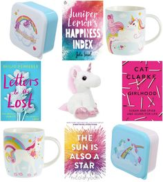 With Love for Books: Four YA Books & Unicorn Mugs, Lunch Boxes & Plush ...