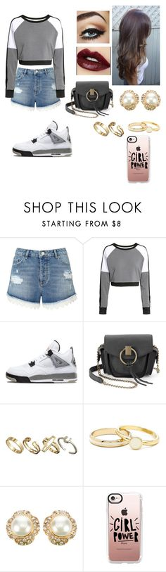 """Untitled #451"" by lexi-pierce123 ❤ liked on Polyvore featuring Miss Selfridge, H&M, Yoki, Pull&Bear, Chanel and Casetify"