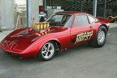 Fred Hurst Opel GT