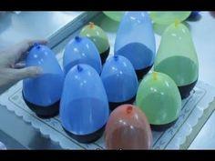 Isabel del Río realiza estos cuencos de chocolate usando sólo globos y chocolate. Son muy fáciles de realizar y nos quedan genial. Sirven para poner chuches,... Tutorial  ✿⊱╮Teresa Restegui http://www.pinterest.com/teretegui/✿⊱╮
