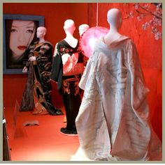 "Costumes from the motion picture, ""Memoirs Of A Geisha"" by Costume Designer Colleen Atwood winner of the Academy Award® for Best Costume Design at the Oscar® Ceremony in 2006."