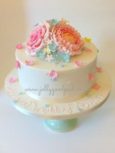 ever popular design for birthdays & anniversaries. www.jollygoodpud.co.uk