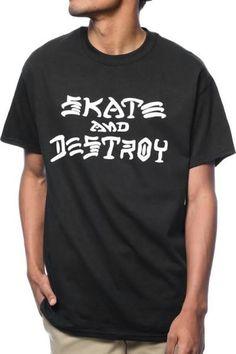skate and destroy shirt Thrasher Skate And Destroy 54013ad136cfb