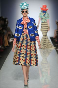 ITC's ETHICAL FASHION INITIATIVE and ALTAROMA BRING AFRICA TO ROME | AltaRomAltaModa: Stella Jean