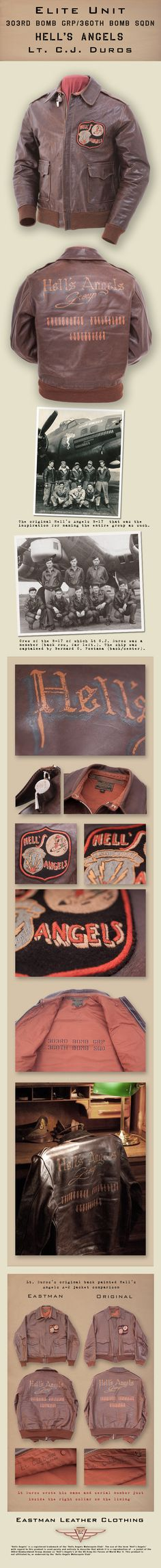 Eastman Leather Clothing - Elite Units : A-2 Hells An