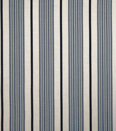 Upholstery Fabric-Eaton Square Butterfly Indigo