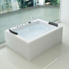 Ideal Standard Vasca idromassaggio Connect pannellabile rettangolare ...