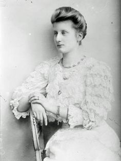 Augusta Victoria of Hohenzollern wife of King Manuell II of Portugal.