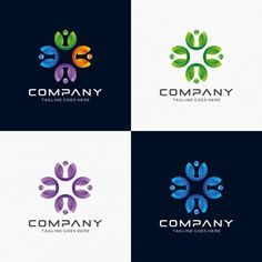 Abstract, Modern, Community logo design for sale