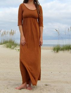 Gaia Conceptions Organic Clothing - Heirloom Long Dress, $165.00 (http://www.gaiaconceptions.com/heirloom-long-dress/)