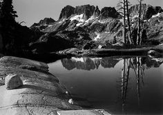 Minarets from Tam above Lake Ediza, Now Ansel Adams Wilderness, CA 1950