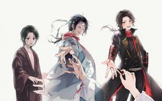 Uploaded by Poysean. Find images and videos about anime art, touken ranbu and kashuu kiyomitsu on We Heart It - the app to get lost in what you love. Mutsunokami Yoshiyuki, Touken Ranbu Characters, Kawaii Faces, Juuzou Suzuya, Hitman Reborn, Anime Couples, Anime Guys, Sword, Anime Art
