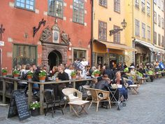 Gamla Stan, Stockholm by charclam, via Flickr