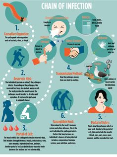 Chain of infection infographic Chain Of Infection, Radiologic Technology, Nursing Career, Microorganisms, Good Healthy Recipes, Fungi, Traditional Design, Mushrooms