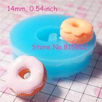 Freies Verschiffen TYL010U Mini Donut Donut Fondant Silikonform Kuchen Dekorieren Tools Schokolade Cupcake Cookie Seife Luft Trocknen